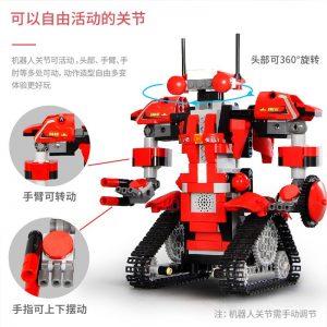 Mould King Technic Robert M2 M1 M3 M4 Set Remote Control Robot Crawler Car Model Building 3