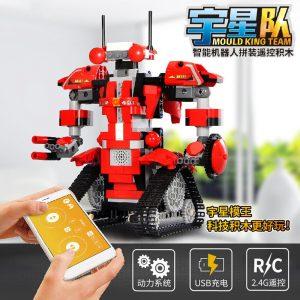 Mould King Technic Robert M2 M1 M3 M4 Set Remote Control Robot Crawler Car Model Building 5
