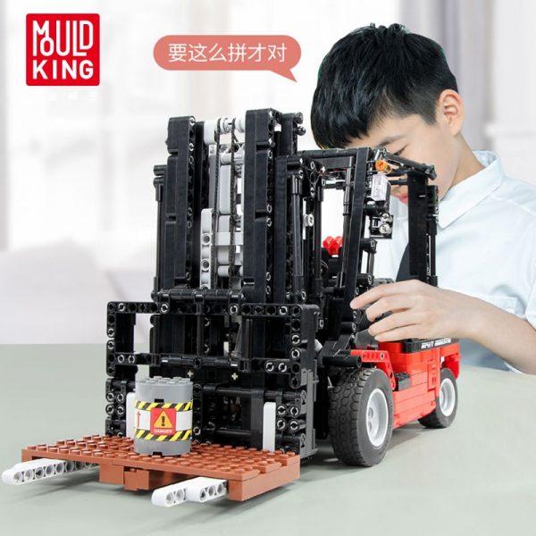 Mould King Technic Series City Engineering Vehicles Rc Forklift Mk Ii Truck Model Building Blocks Bricks 4