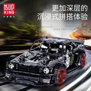 Mould King Technic Series Rc Ford Mustang Hoonicorn Rtr V2 Racing Car Model Building Blocks Bricks 4