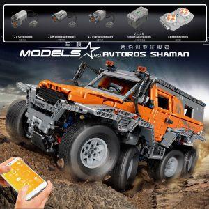 Mould King Technic Series Siberia Off Road Vehicle Remote Control Car Model Building Blocks Bricks 13088 1