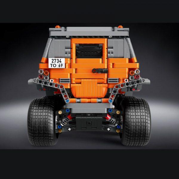 Mould King Technic Series Siberia Off Road Vehicle Remote Control Car Model Building Blocks Bricks 13088 2