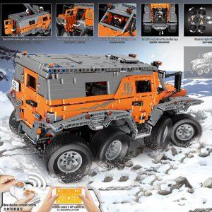 Mould King Technic Series Siberia Off Road Vehicle Remote Control Car Model Building Blocks Bricks 13088 5