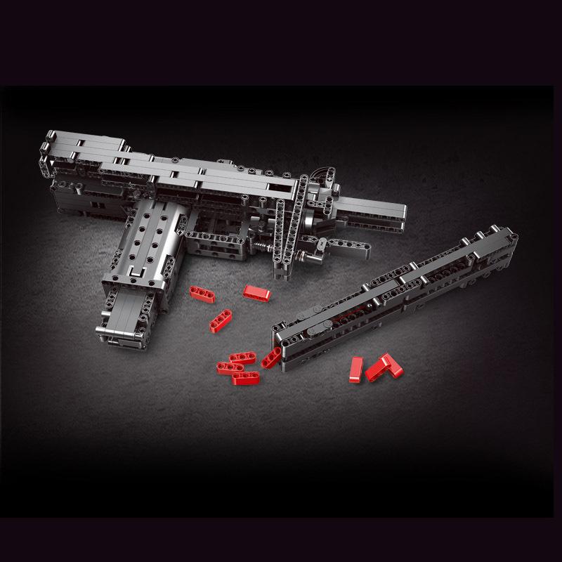 Mouldking 14006 Mini Uzi Submachine Gun 2