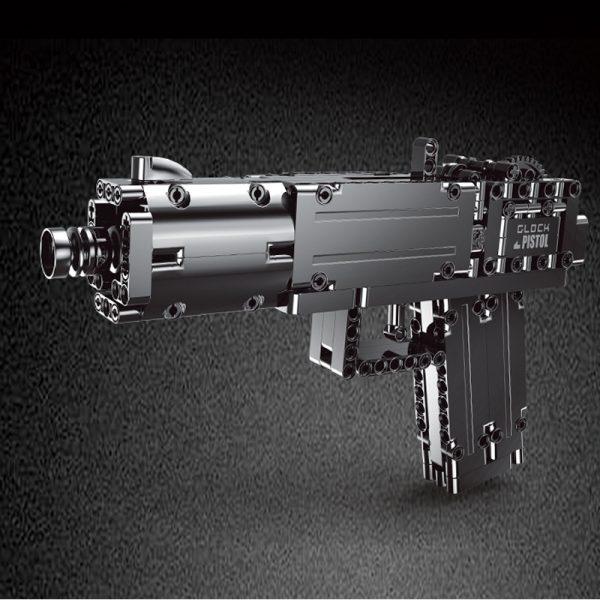 Mouldking 14008 Glock Automatic Pistol 2