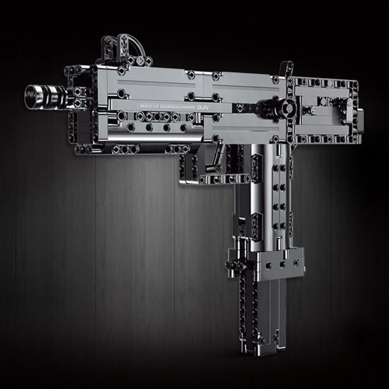 Mouldking 14012 American Ingram Mac 10 Submachine Gun 2