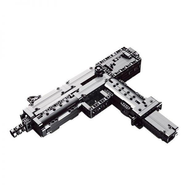 Mouldking 14012 American Ingram Mac 10 Submachine Gun 5