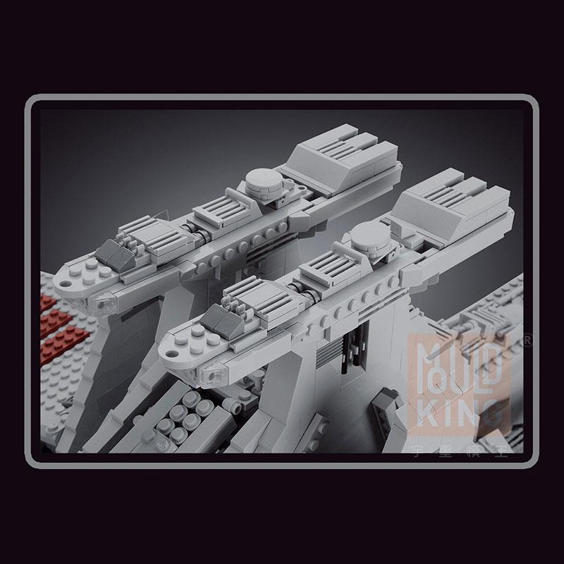 Mouldking 21005 Venator Class Republic Attack Cruiser Star Wars 3