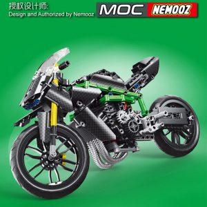 Mouldking 23002 Moc 32005 Kawasaki H2r 2