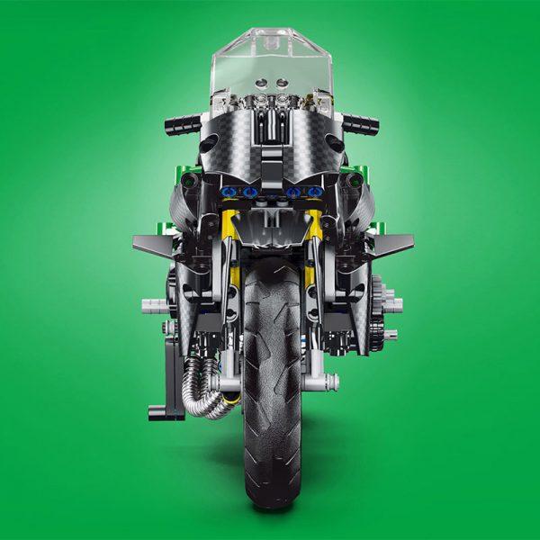 Mouldking 23002 Moc 32005 Kawasaki H2r 3