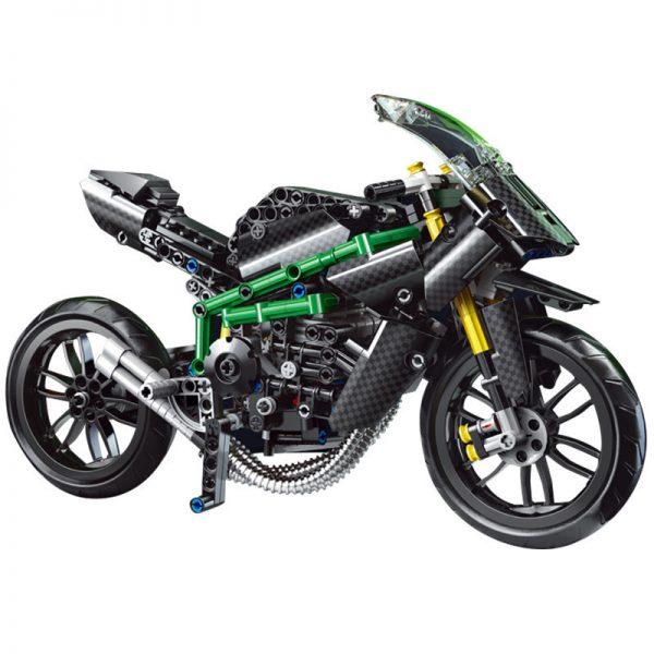 Mouldking 23002 Moc 32005 Kawasaki H2r 5