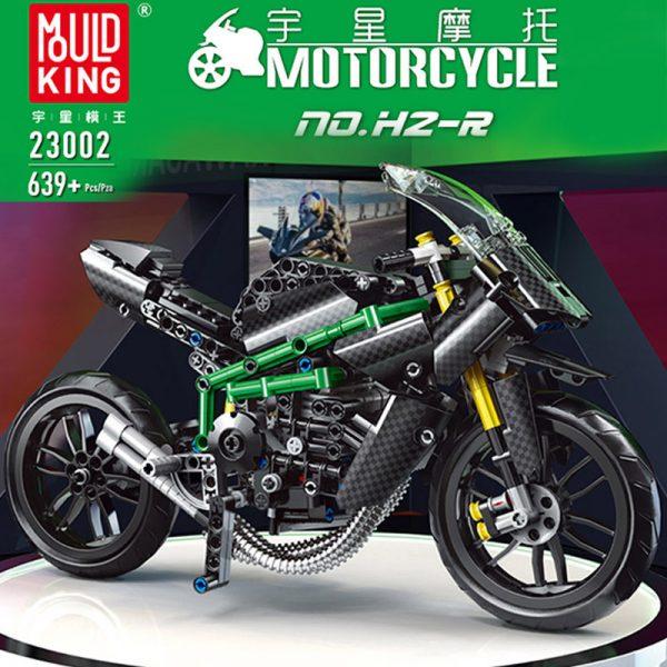 Mouldking 23002 Moc 32005 Kawasaki H2r