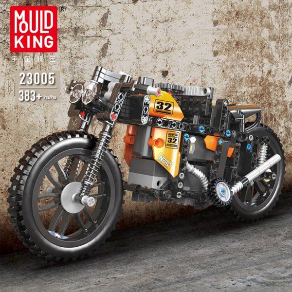 Mouldking 23005 Moc 17249 Rc Racing Motorcycle