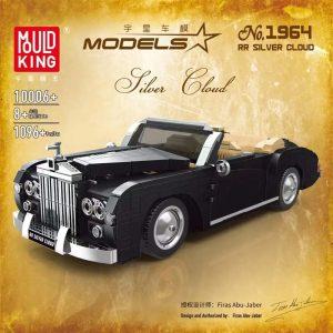 Mouldking 10006 1964 Rolls Royce Sliver Cloud