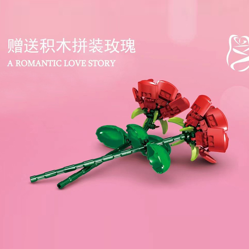 MOULD KING 10022 A Romantic Love Story