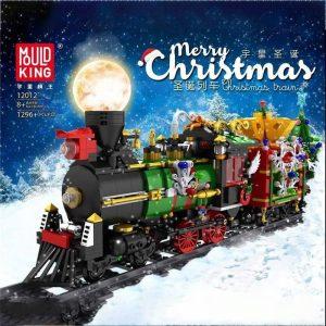 Mouldking 12012 Merry Christmas Christmas Train