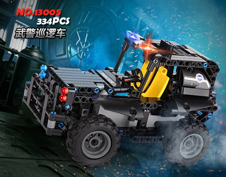 MOULD KING 13005-13008 RC Super Police Cars Series