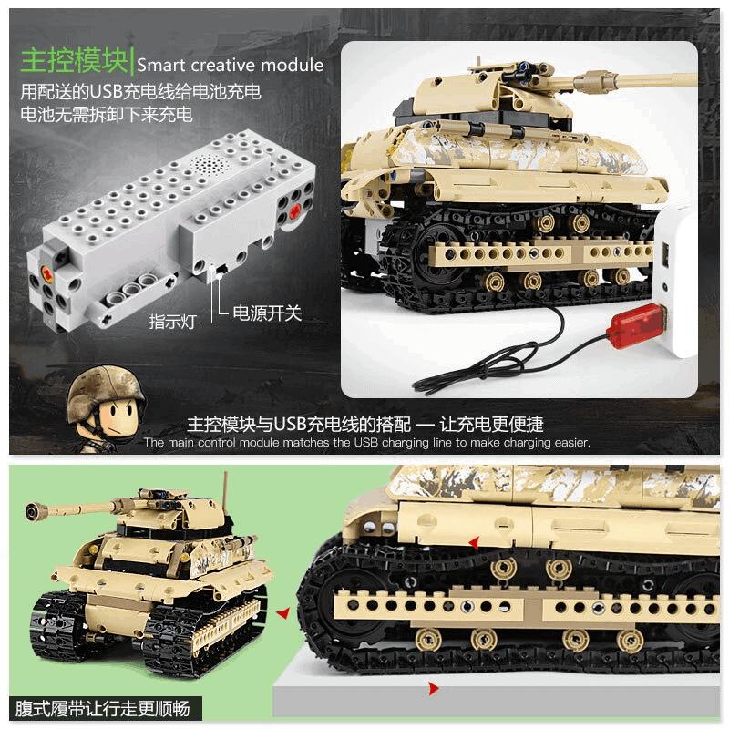 MOULD KING 13011 Huge Tank