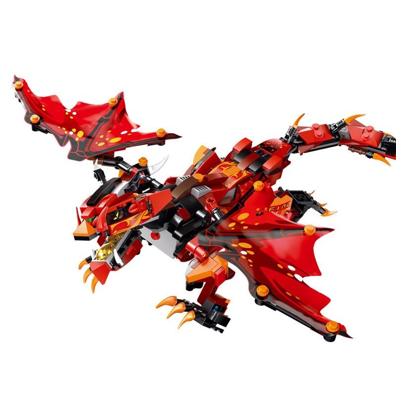 Mouldking 13018 13022 Dragon Gongfu King 19
