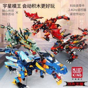 Mouldking 13018 13022 Dragon Gongfu King