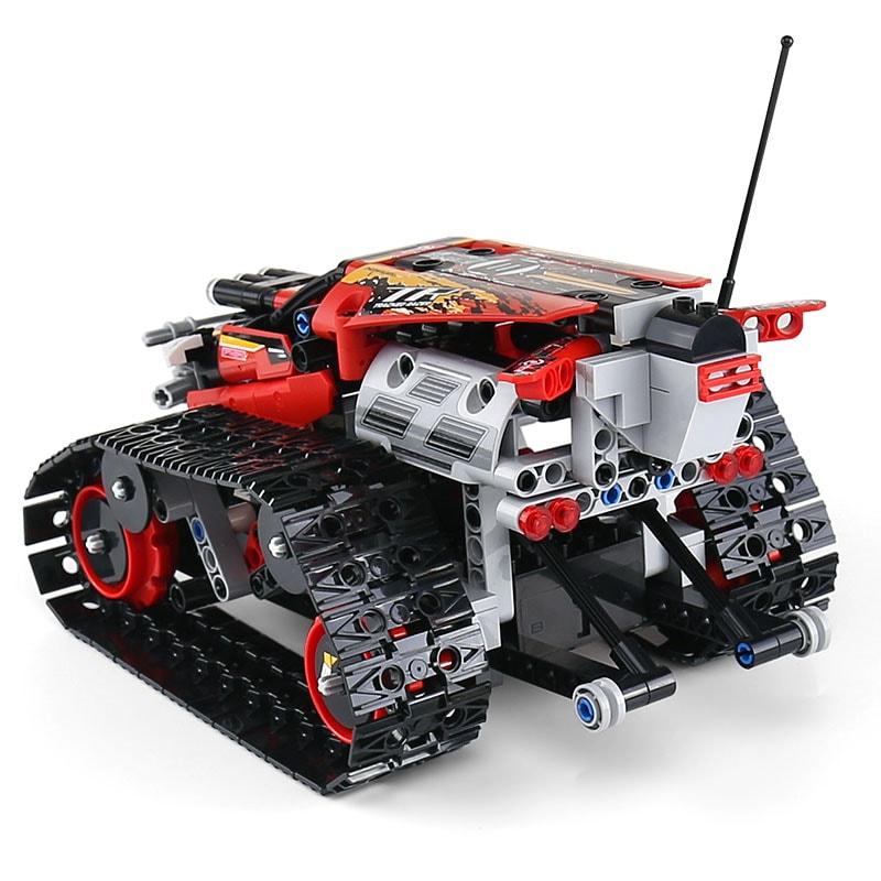 MOULD KING 13036 Mini Tank RC Track Stunt Car Red