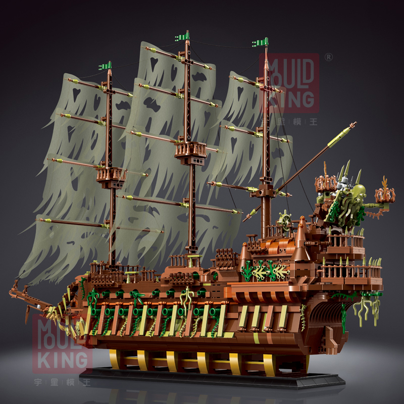 MOULD KING 13138 The Flying Dutchman - Pirates Of The Caribbean