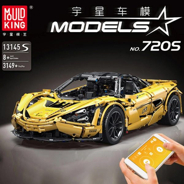 Mouldking 13145s Mclaren 720s 18 Super Car