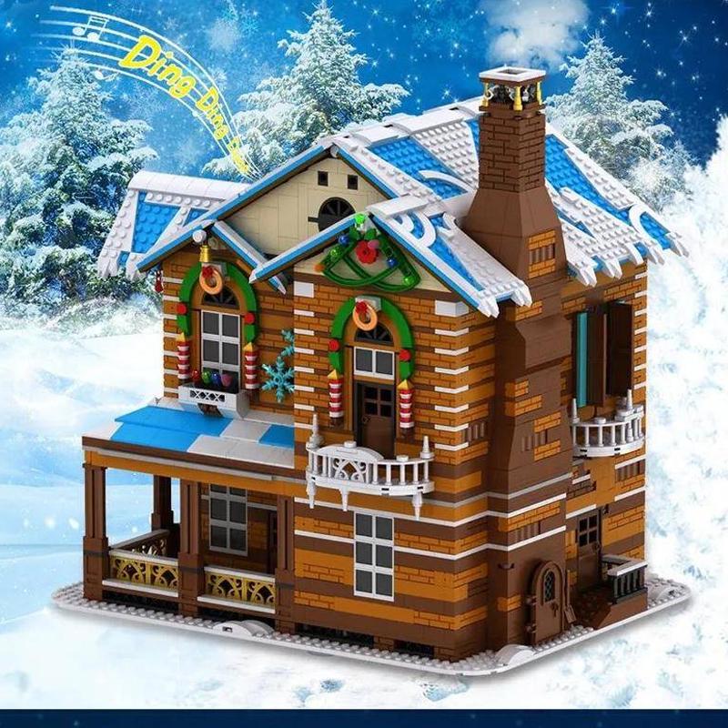 MOULD KING 16011 Merry Christmas: Christmas House