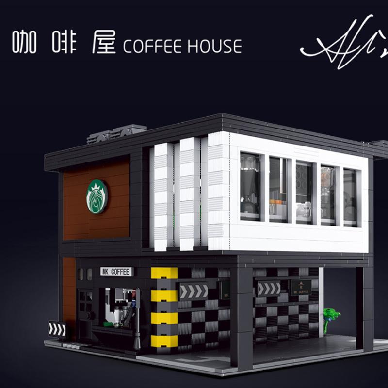 MOULD KING 16036 Modern Starbucks Coffee House