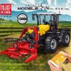 Mouldking 17019 Tractor Fastrac 4000er Series With Rc
