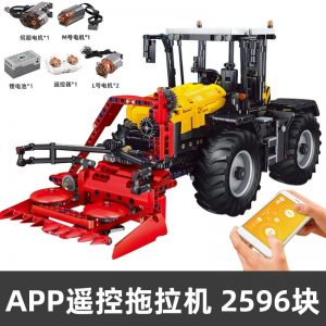 Mouldking 17019 Tractor Fastrac 4000er Series With Rc 6