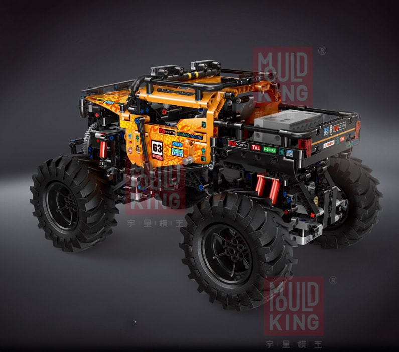 MOULD KING 18004 Gold Diamond Buggy 4×4 X-treme Off-Roader