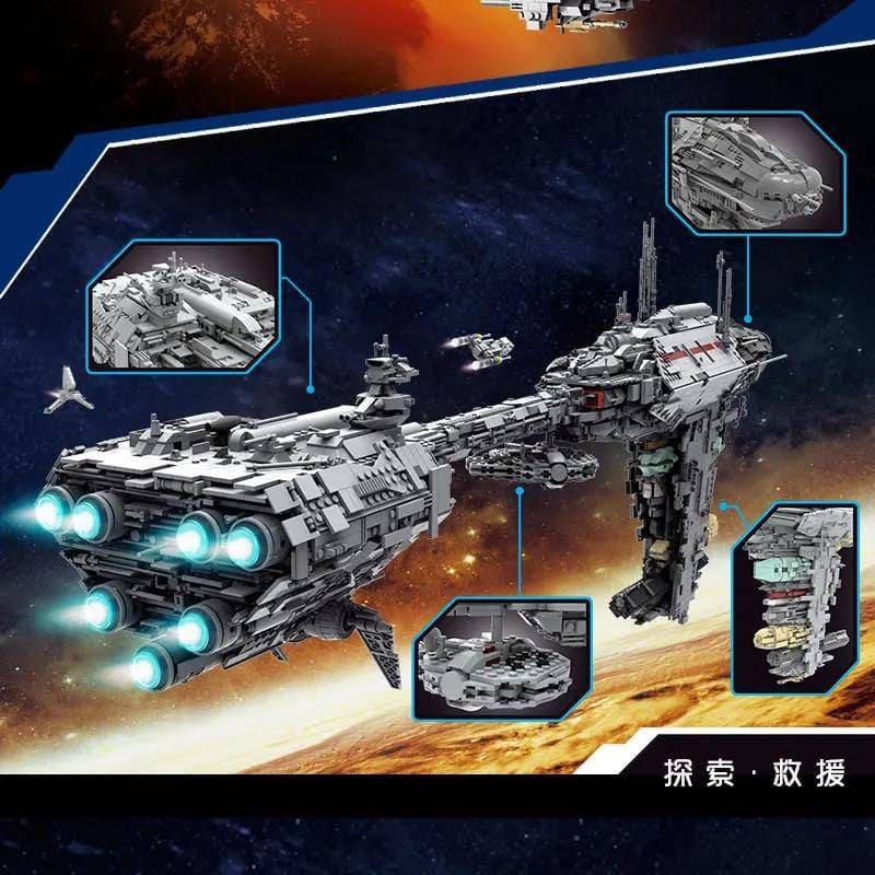 Mouldking 21001 Moc 5083 Mortesvs Ucs Nebulon B Medical Frigate Star Wars By Alloutbrick 3
