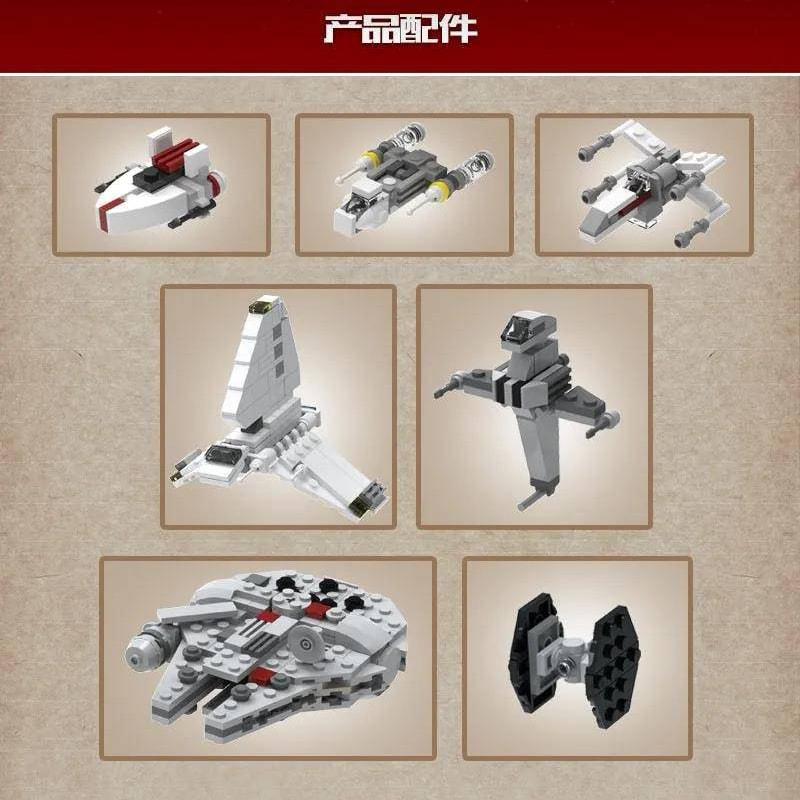Mouldking 21001 Moc 5083 Mortesvs Ucs Nebulon B Medical Frigate Star Wars By Alloutbrick 5
