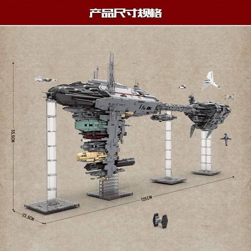 Mouldking 21001 Moc 5083 Mortesvs Ucs Nebulon B Medical Frigate Star Wars By Alloutbrick 6
