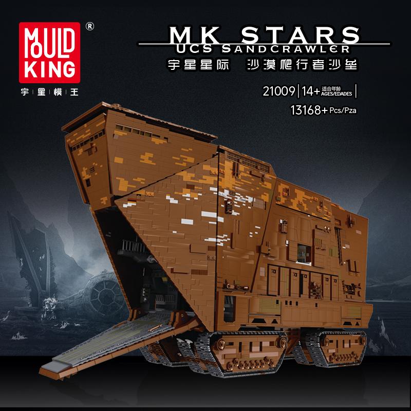 MOULD KING 21009 UCS SANDCRAWLER