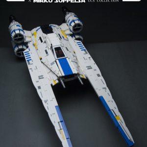 Mouldking 21016 Rebel U Wing Fighter By Mirko Soppelsa 4