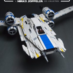 Mouldking 21016 Rebel U Wing Fighter By Mirko Soppelsa 6