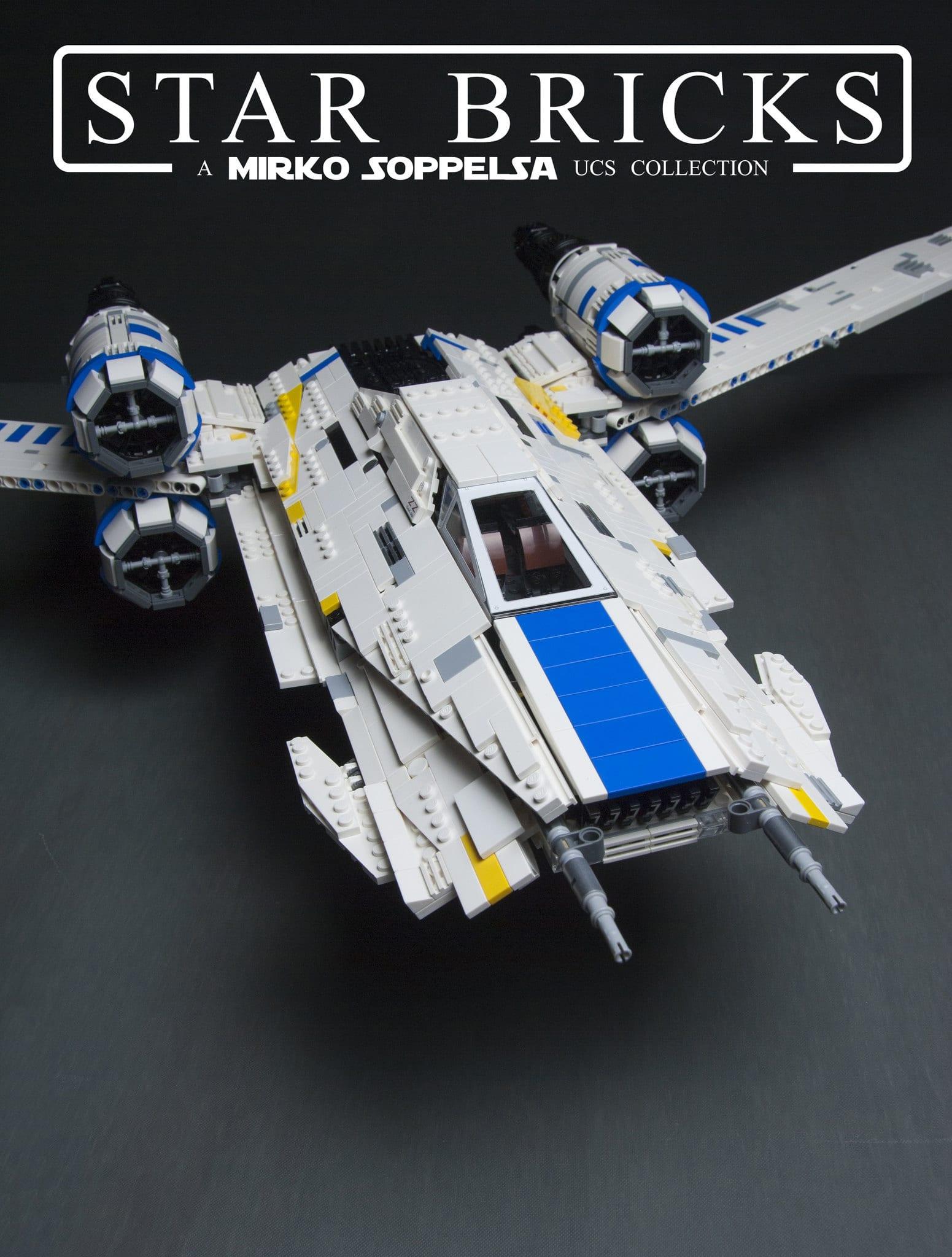 MOULD KING 21016 Rebel U Wing Fighter by Mirko Soppelsa