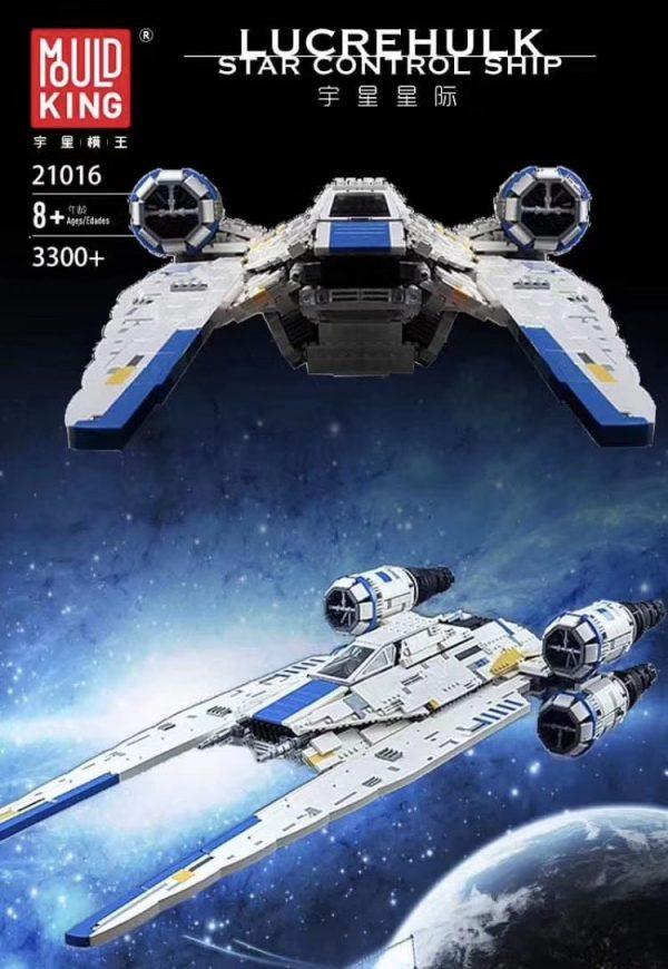 Mouldking 21016 Rebel U Wing Fighter By Mirko Soppelsa 8
