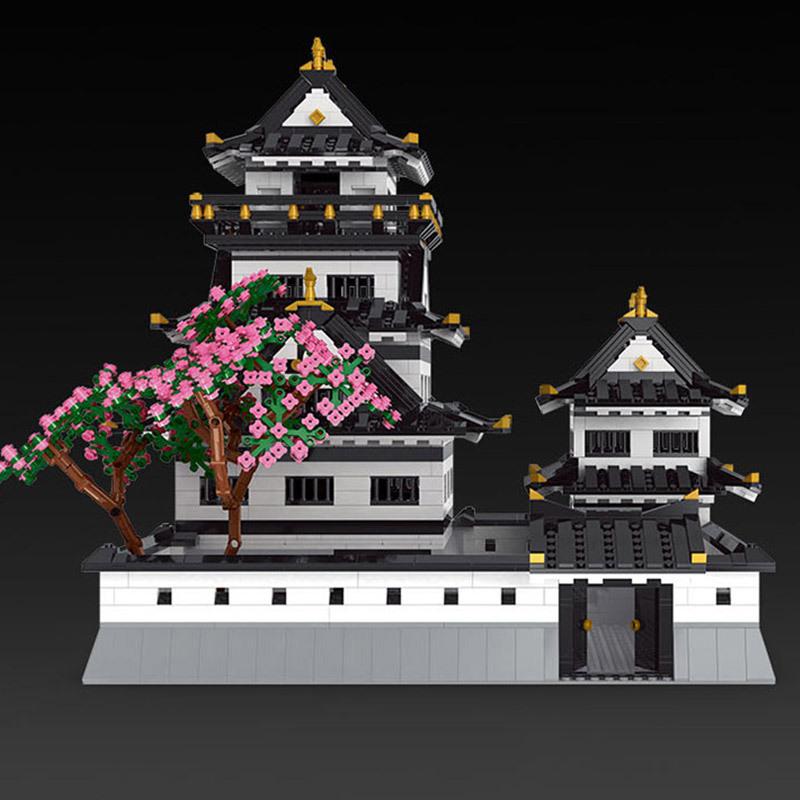 MOULD KING 22006 Ustar Nazuki: Himeji Castle