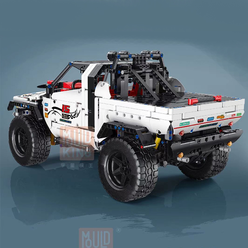 MOULD KING 18005 Silver Flagship Off-Road