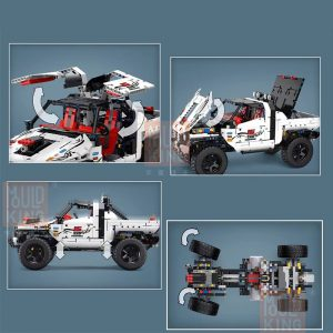 Technic Mouldking 18005 Silver Flagship Off Road 3