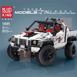 Technic Mouldking 18005 Silver Flagship Off Road