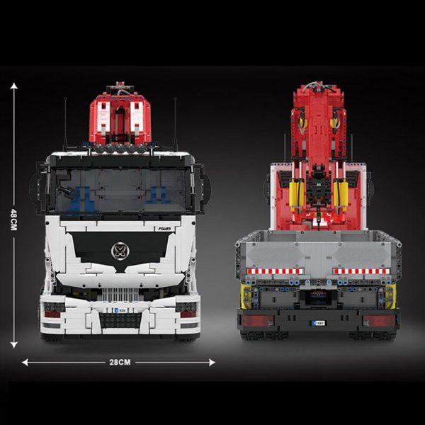 Technic Mouldking 19002 Pneumatic Crane Truck 5