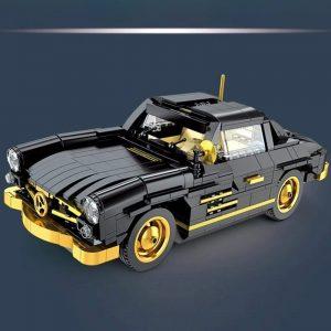 Mould King Car The Moc 22930 300sl Gullwing Building Blocks Bricks Car Model Kids Educational Toys (2)