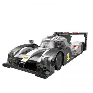 Mouldking 10002 Porsche 919 Super Car 5
