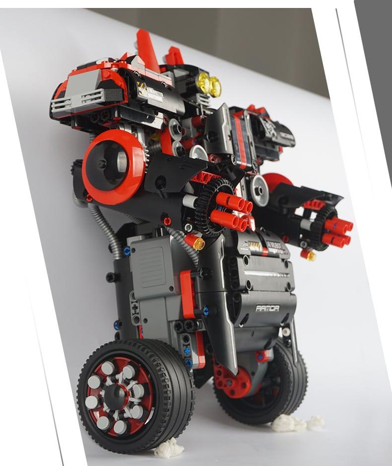 MOULD KING 13028 Xturboman Intelligent RC DIY Robot