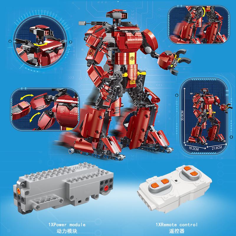 MOULD KING 15038 Crimson Robot