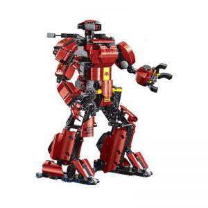 Mouldking 15038 Crimson Robot 3
